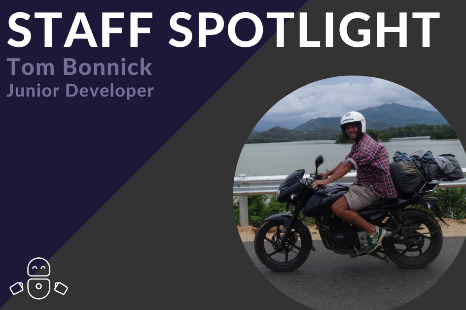 Staff Spotlight: Meet our Junior Developer, Tom